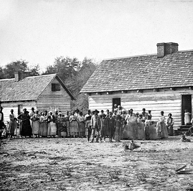 Historical Photos | Proclamation of Hope - WTTW  Cotton Plantations 1800s