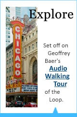 Set off on Geoffrey Baer's Audio Walking Tour of the loop.