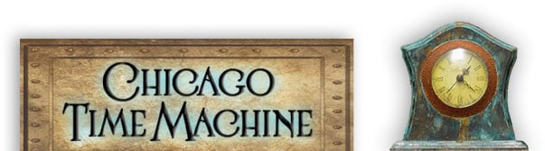 Chicago Time Machine logo