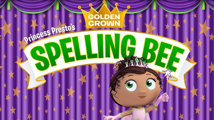 Play Super WHY! Spelling Bee