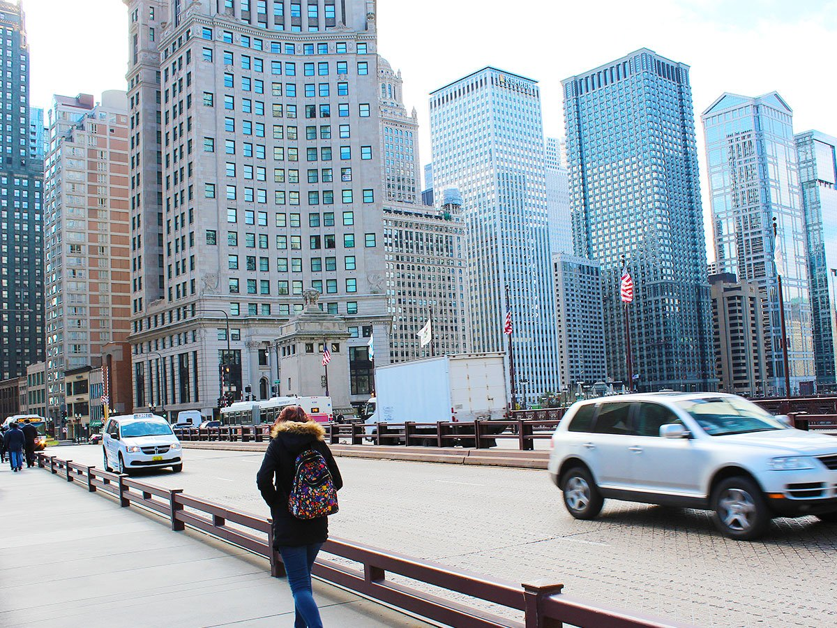 Michigan Avenue Bridge, 2017