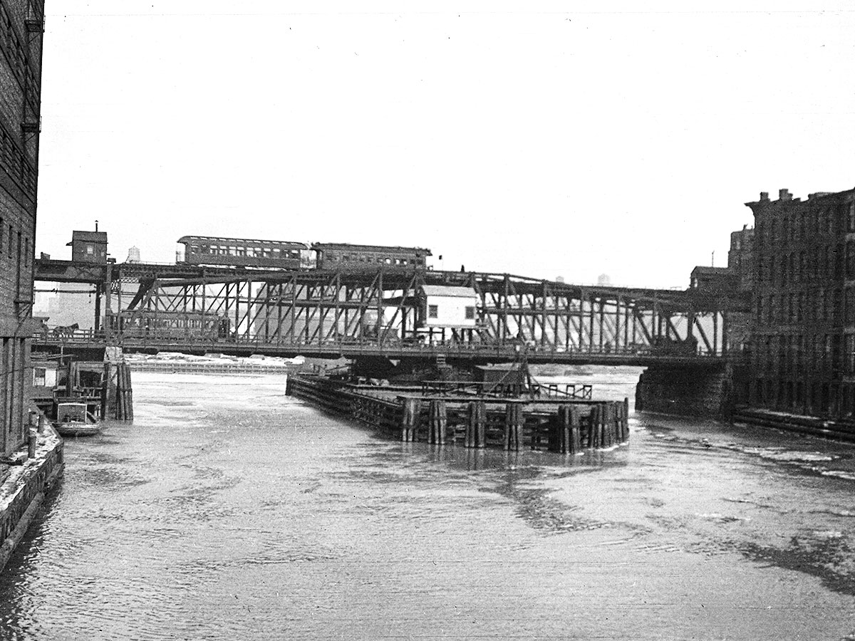 Lake Street Bridge, 1910