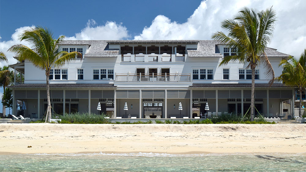 Caribbean Couryard House