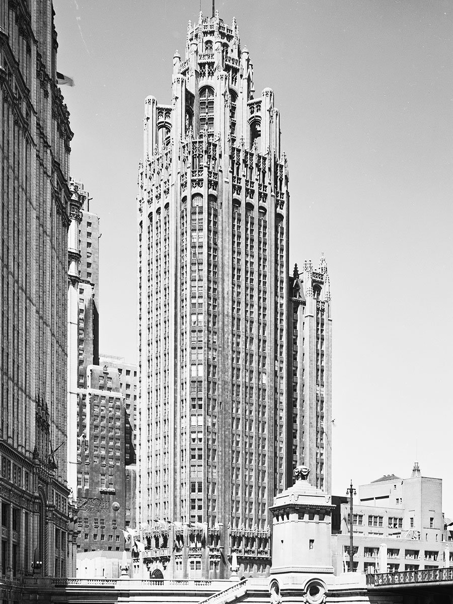 Tribune Tower, 1931