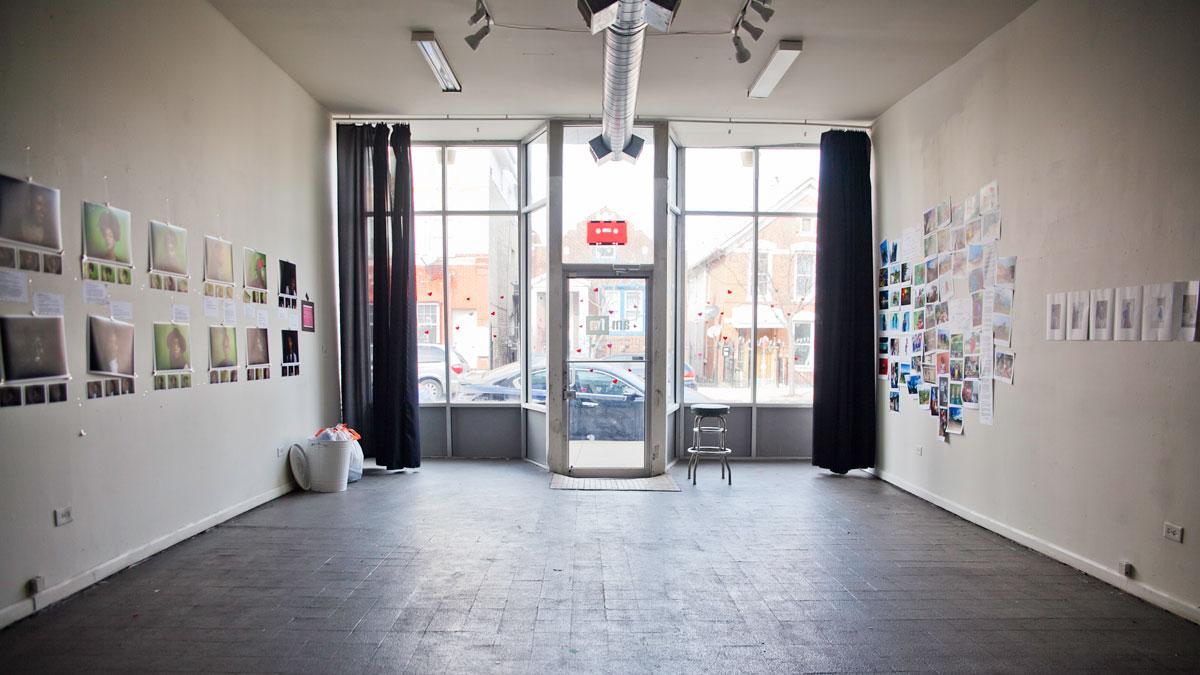 Inside AMFM gallery