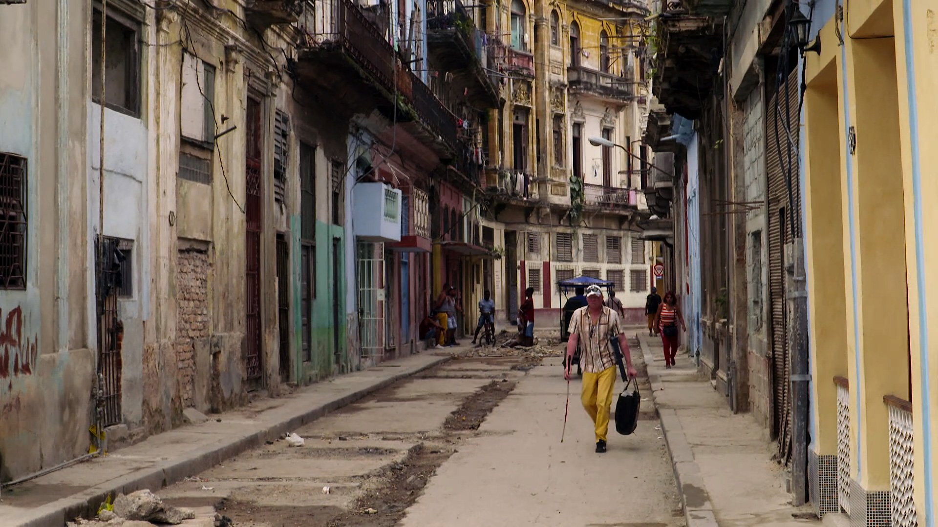 Cuba's Crumbling Infrastructure
