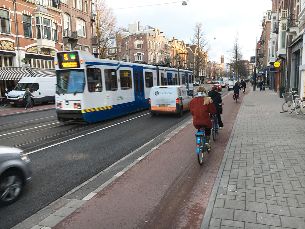 Amsterdam 'complete street'