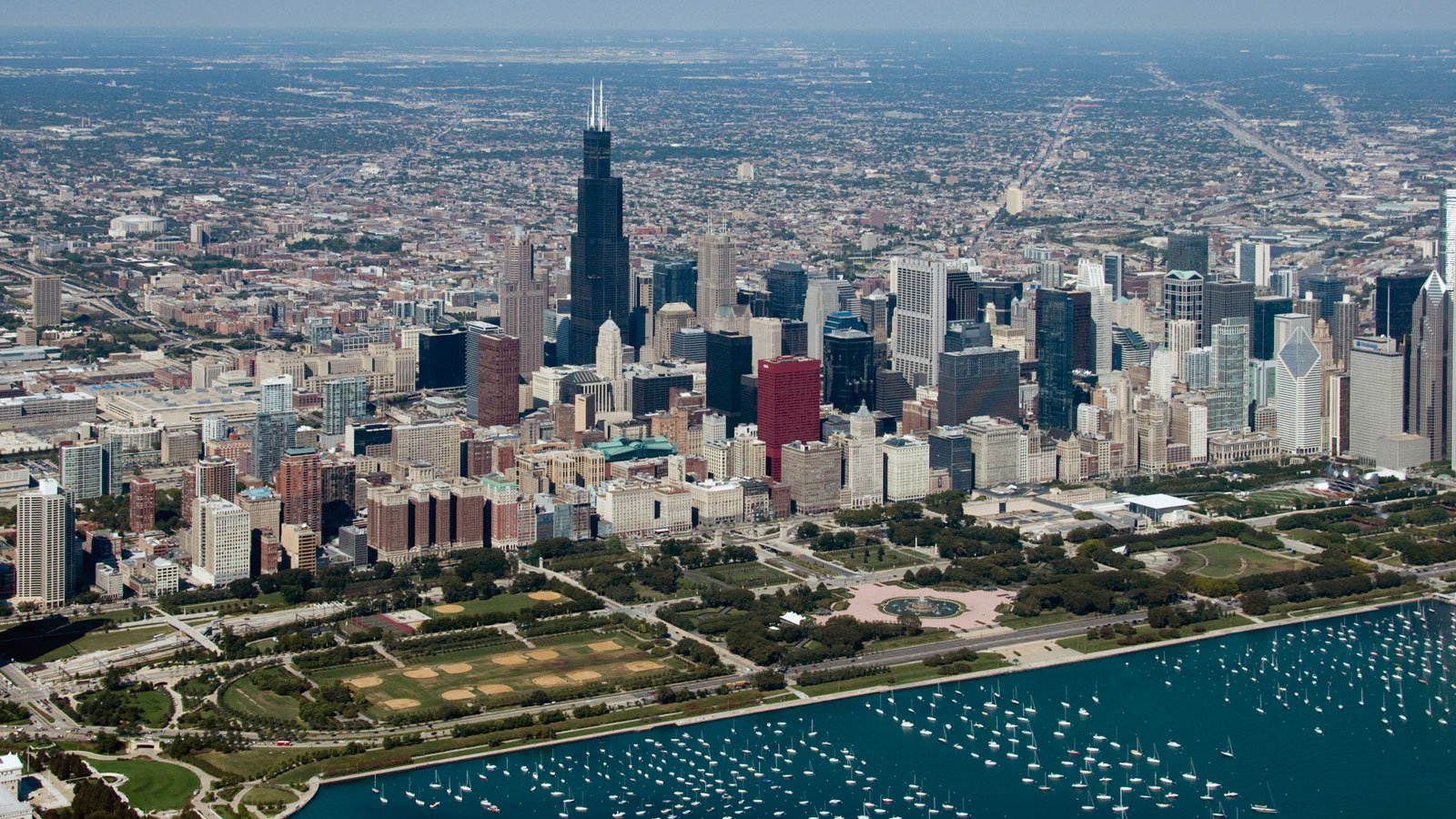 Then and now grant park wttw chicago public media television and