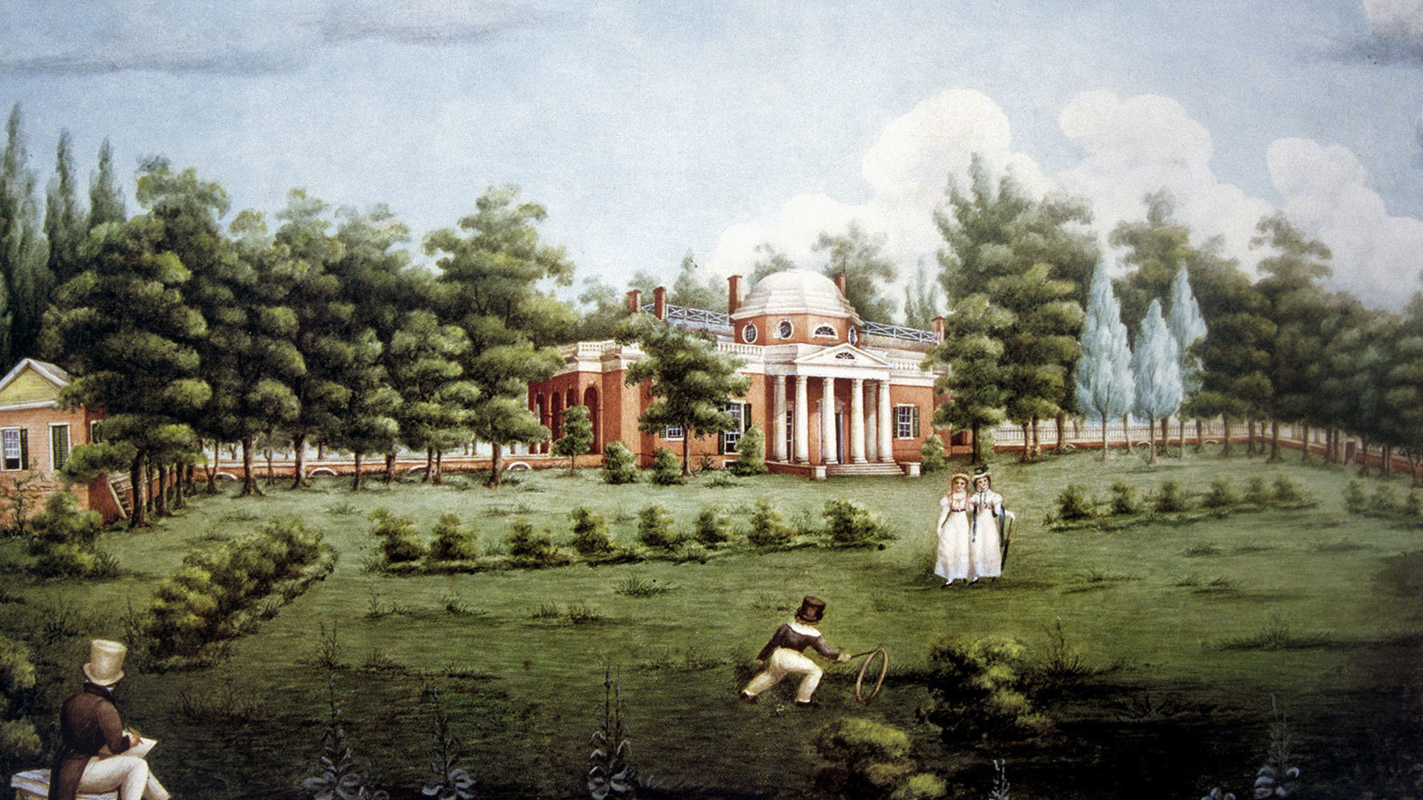 Monticello on Neoclassical Homes