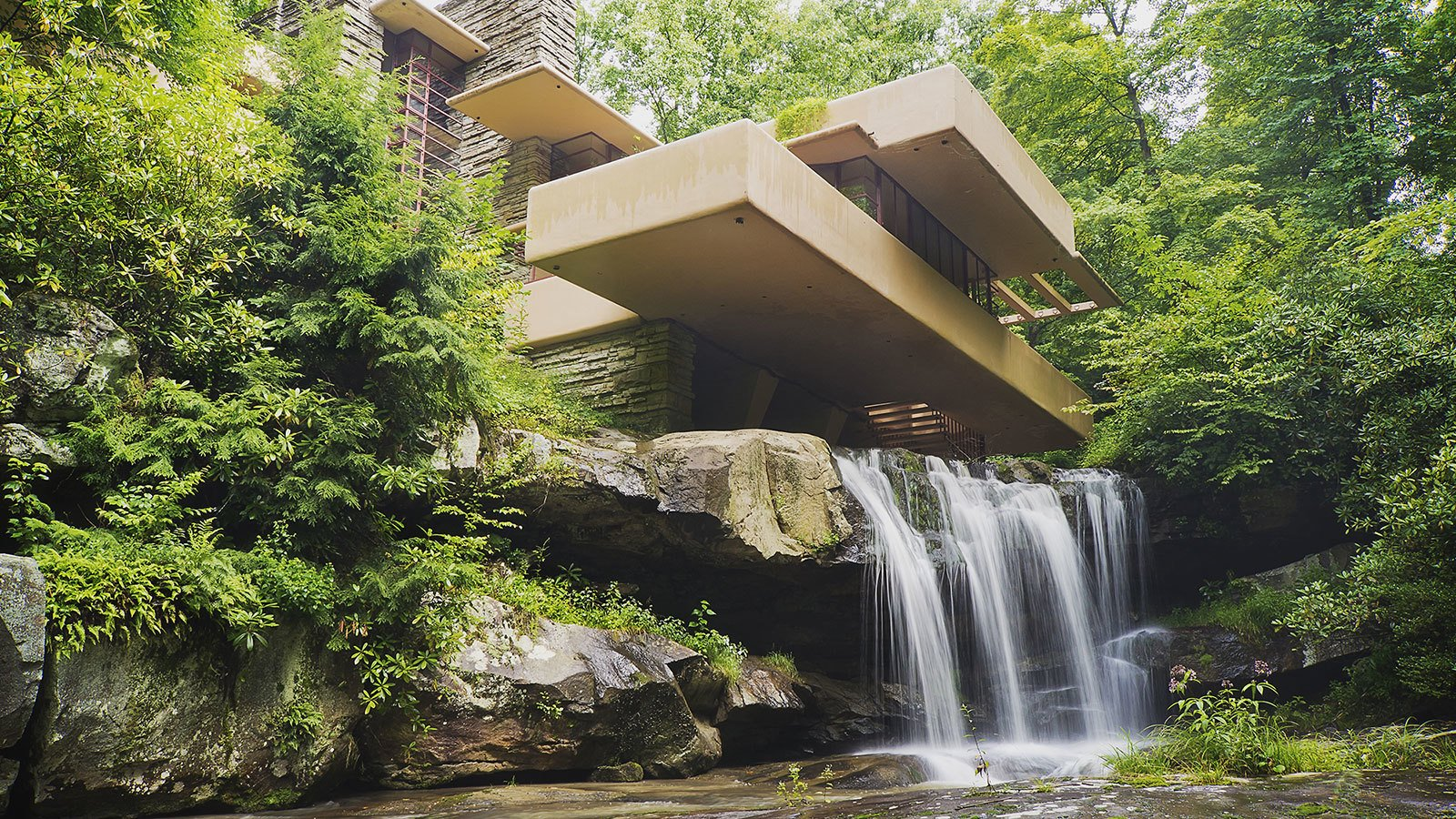 7 Fallingwater Mill Run Pennsylvania Frank Lloyd Wright 1937