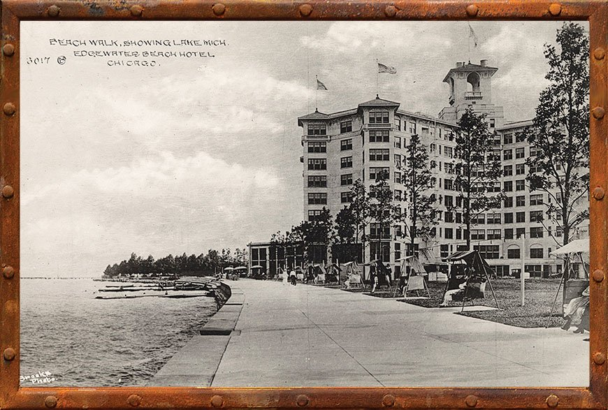 Edgewater Beach Hotel Wttw Chicago
