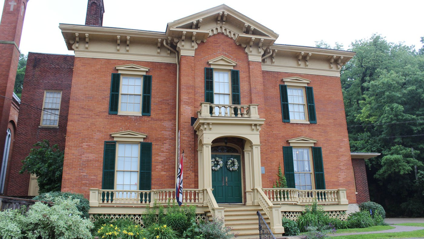 The Ulysses S. Grant Home State Historic Site in Galena, Illinois