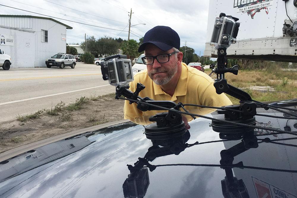 Riggin a car with cameras