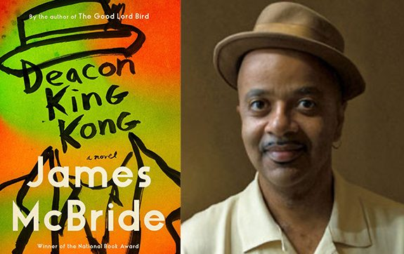 Deacon King Kong book cover and author James McBride