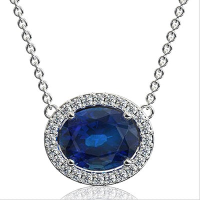 Diamond and Sapphire Jewelry