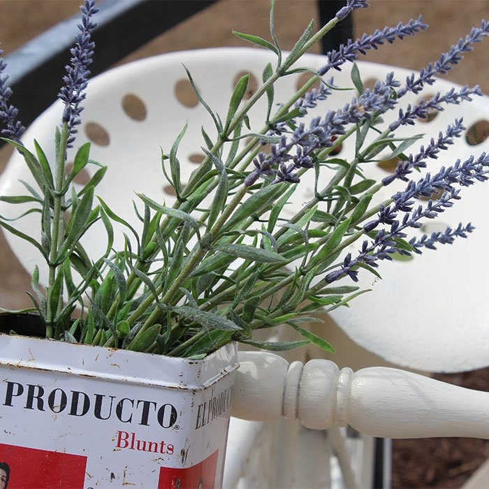 bike decorate with lavender