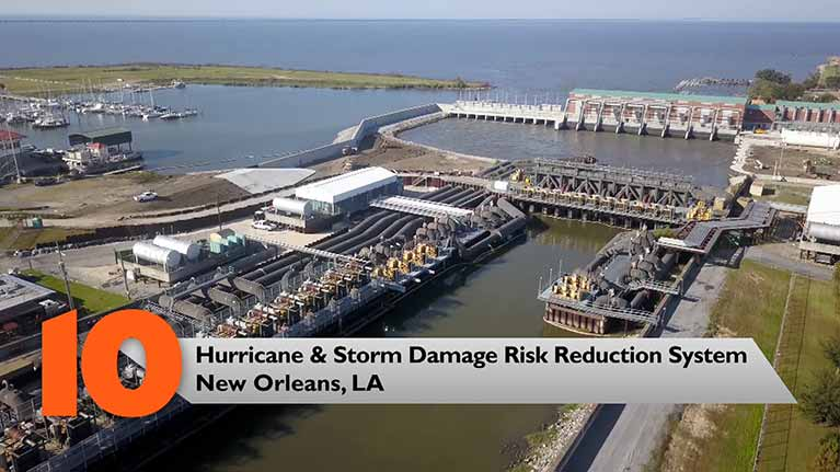 Hurricane & Storm Damage Risk Reduction System