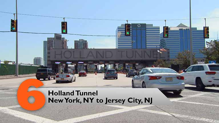 Holland Tunnel, New York, NY to Garden City, NJ