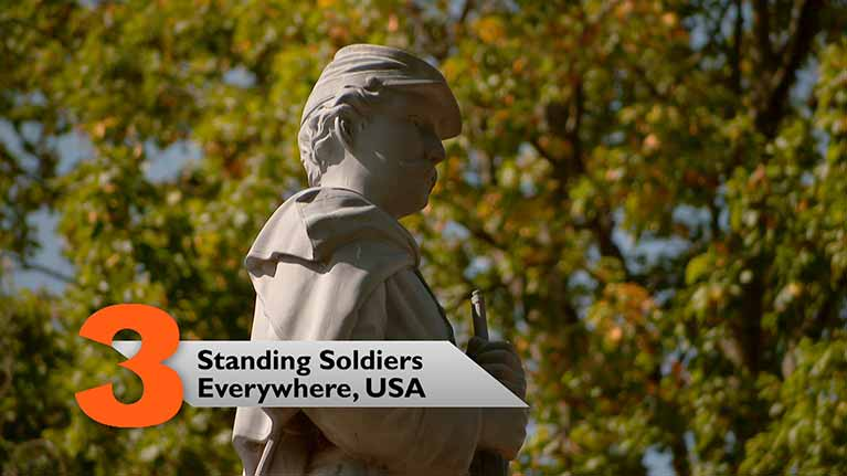 Standing Soldiers, Everywhere, USA
