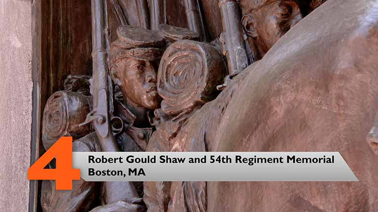 Robert Gould Shaw and 54th Regiment Memorial