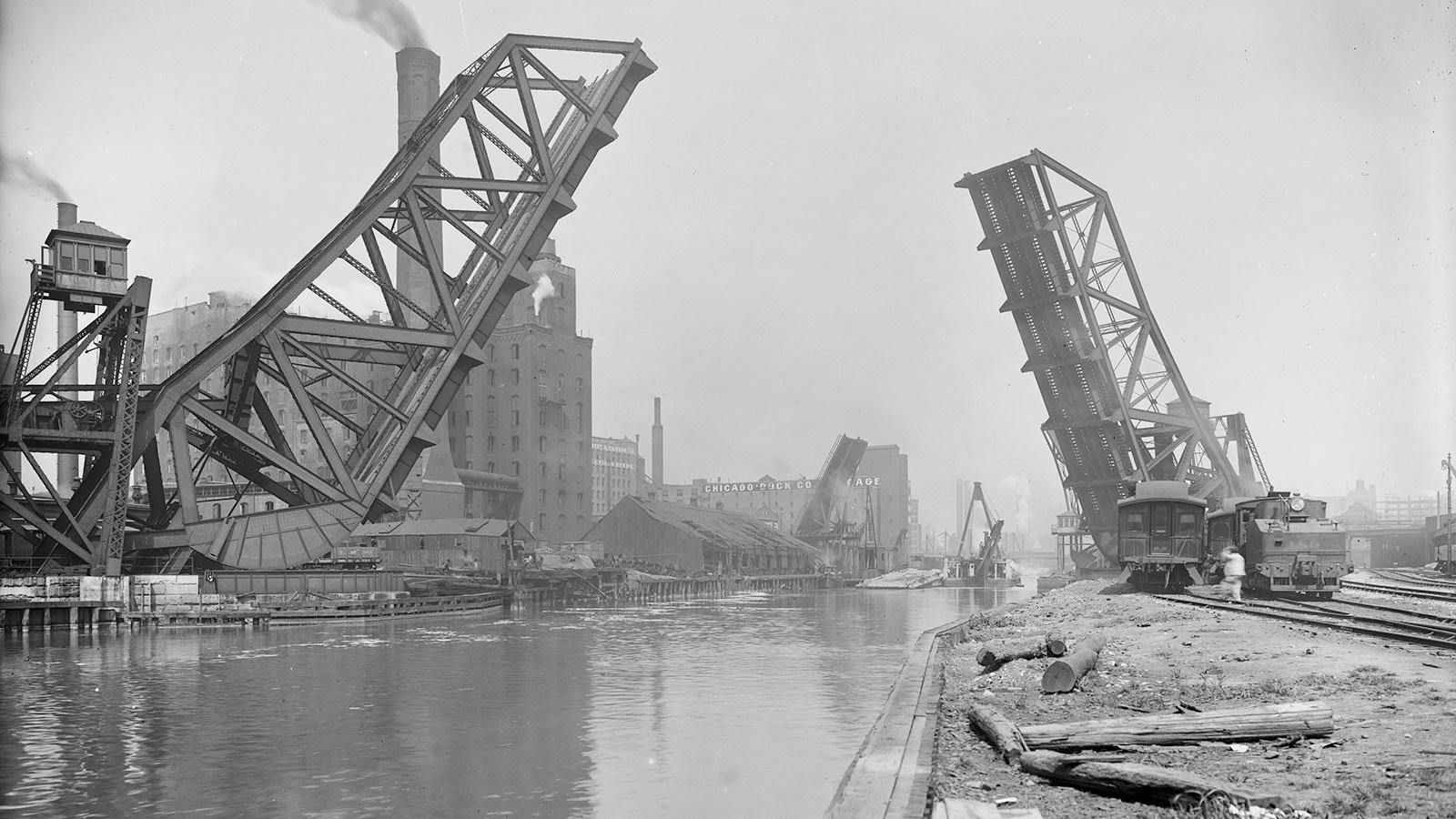 welfth St. Vascule [i.e. Bascule] Bridge, Chicago