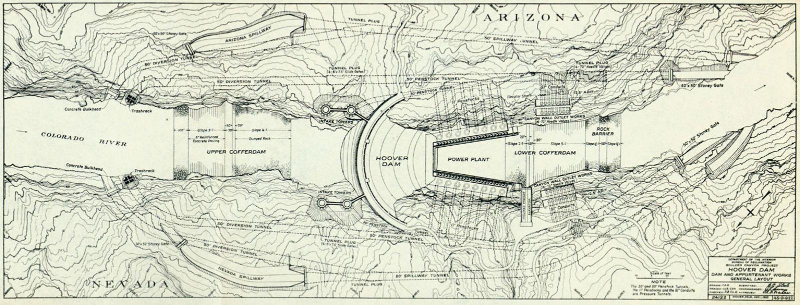Hoover Dam plan