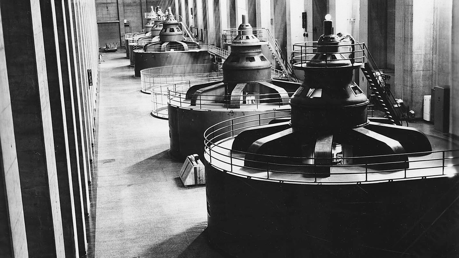 The first electric generator at Hoover Dam went into operation on October 26, 1936