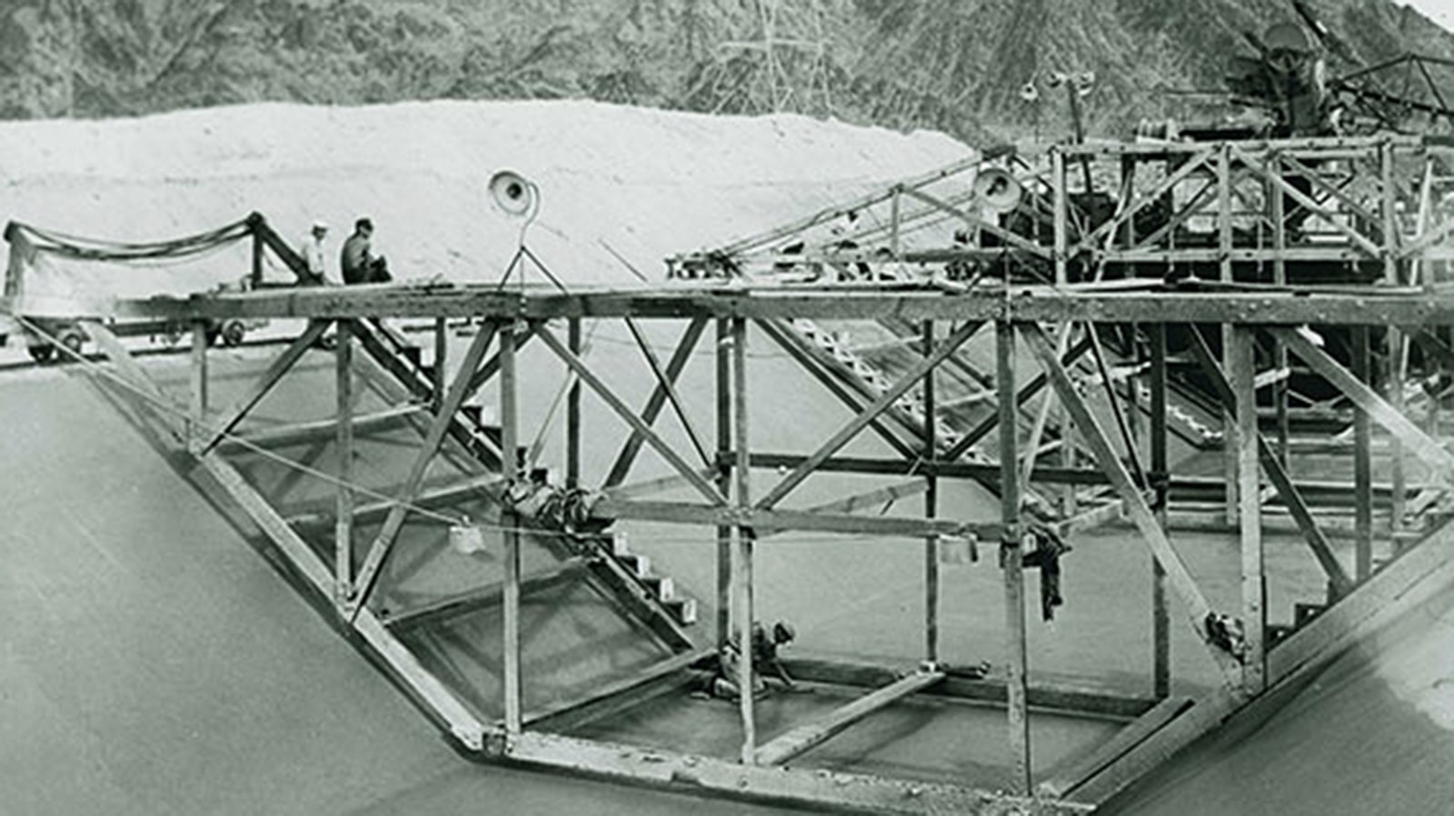Early construction of the Colorado River Aqueduct, circa 1935