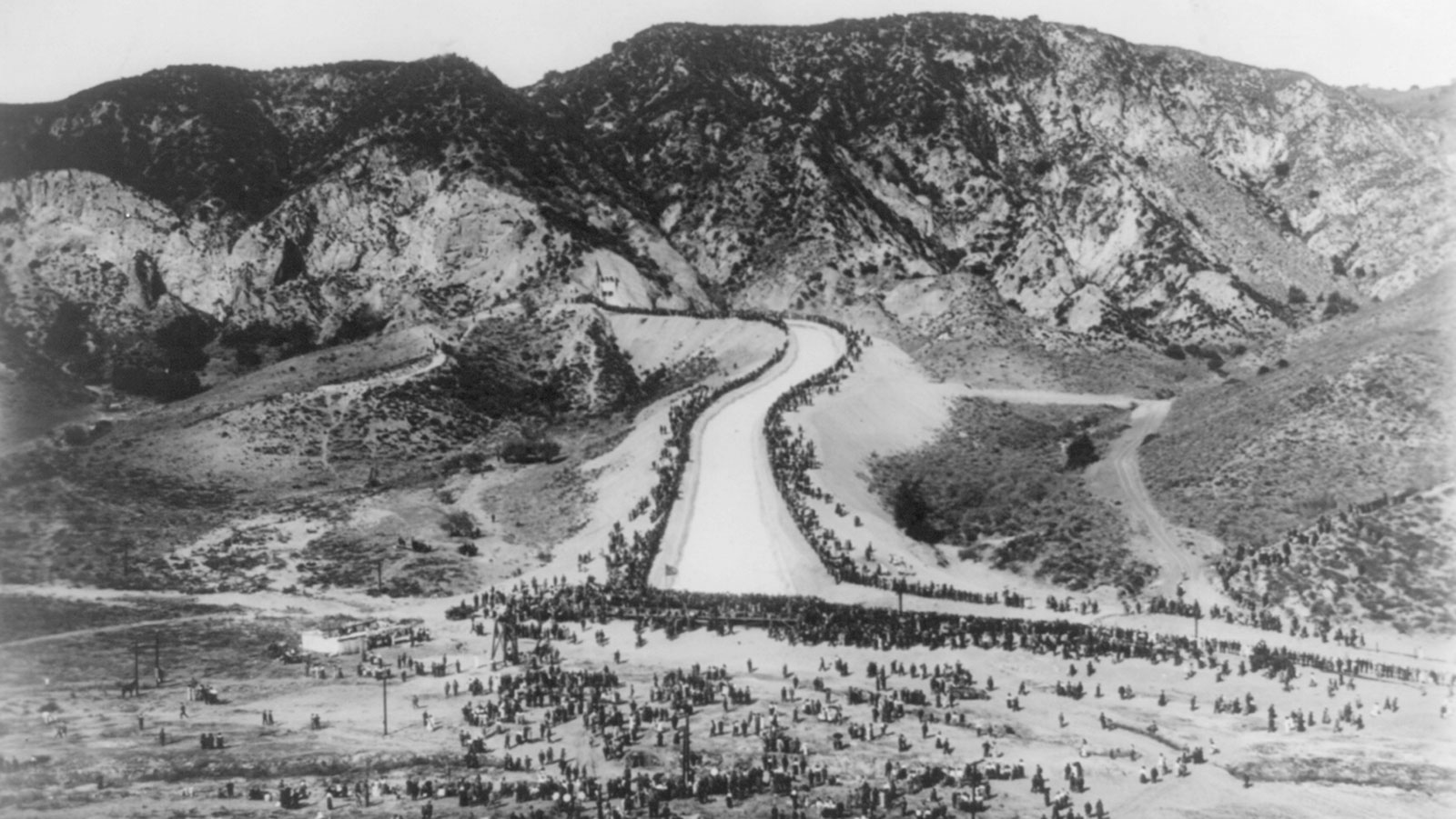 L.A. Aqueduct Celebration, Nov. 5th, 1913 at the Cascades