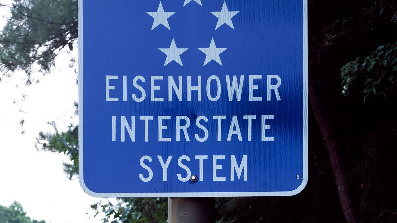 ign for the Interstate Highway System saluting President Dwight Eisenhower