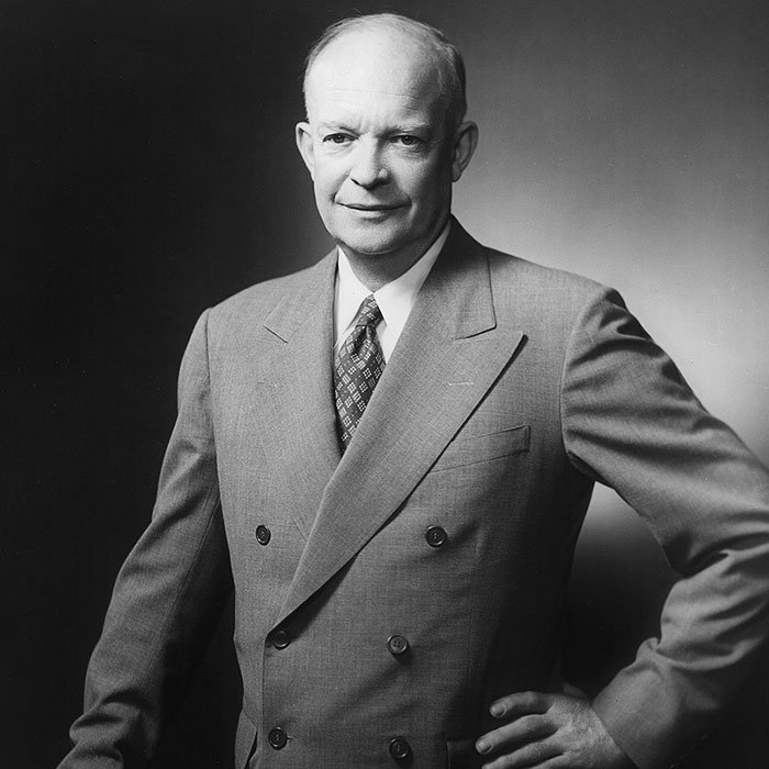 Portrait of Dwight D. Eisenhower, circa 1952