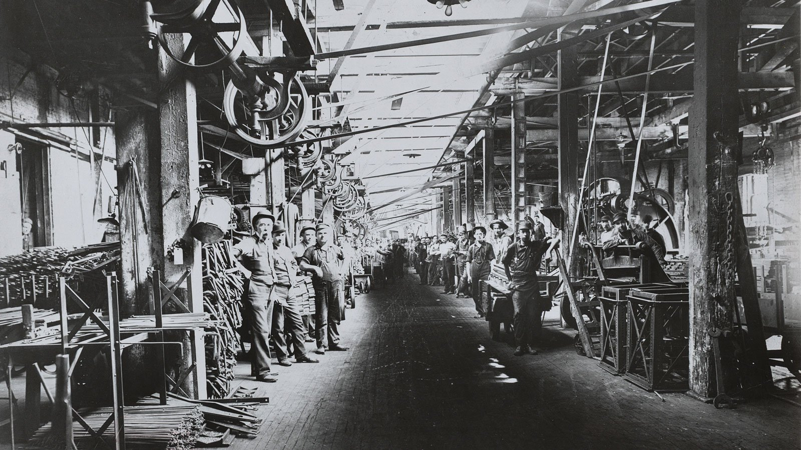 Workers at McCormick Factory.