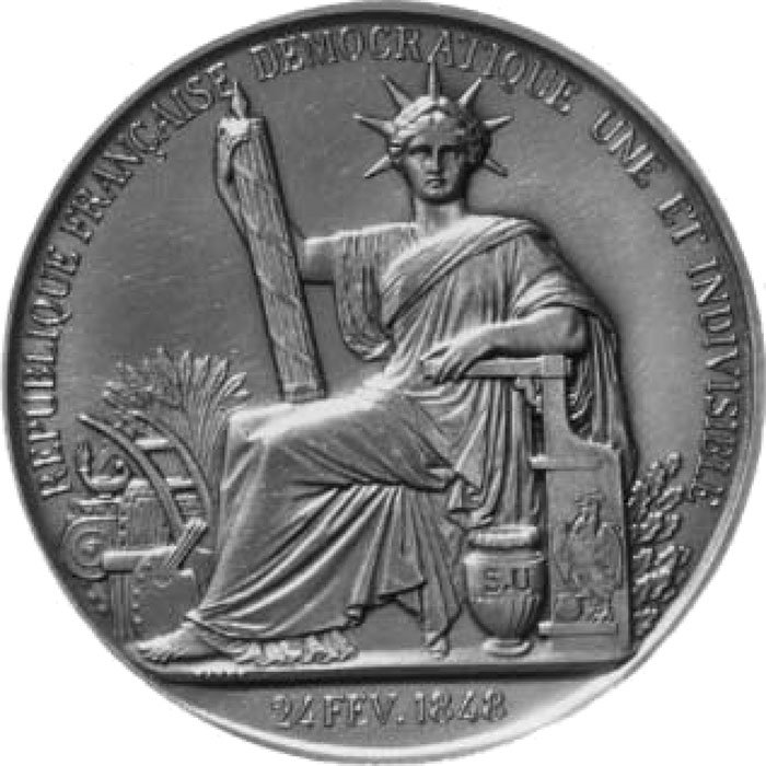 The Great Seal of the French Second Republic