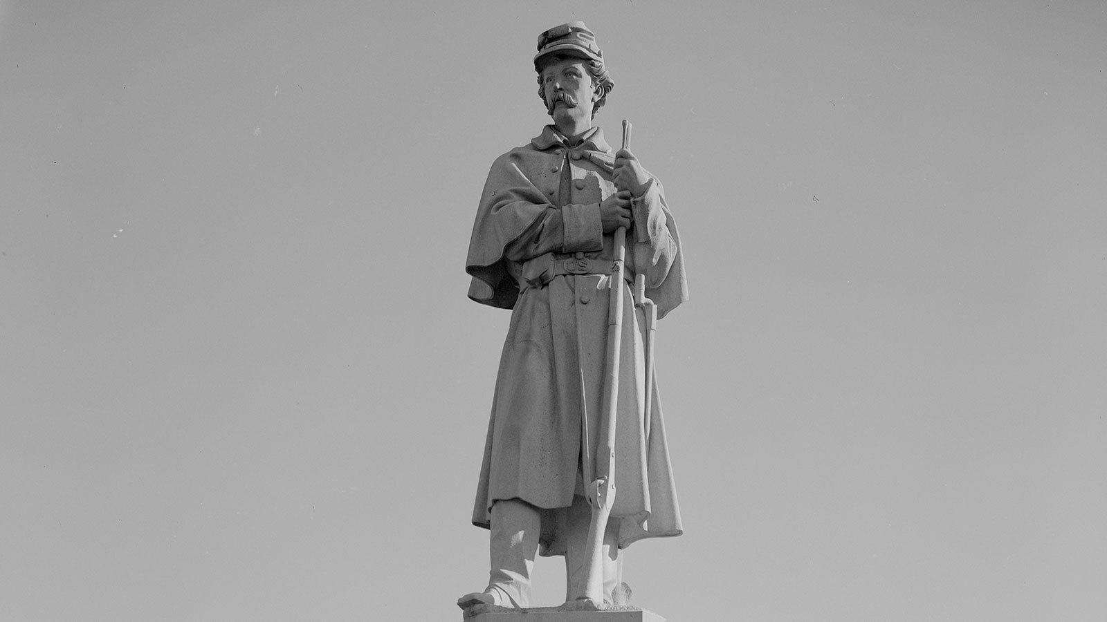 A U.S. Soldiers Monument at Antietam National Cemetery