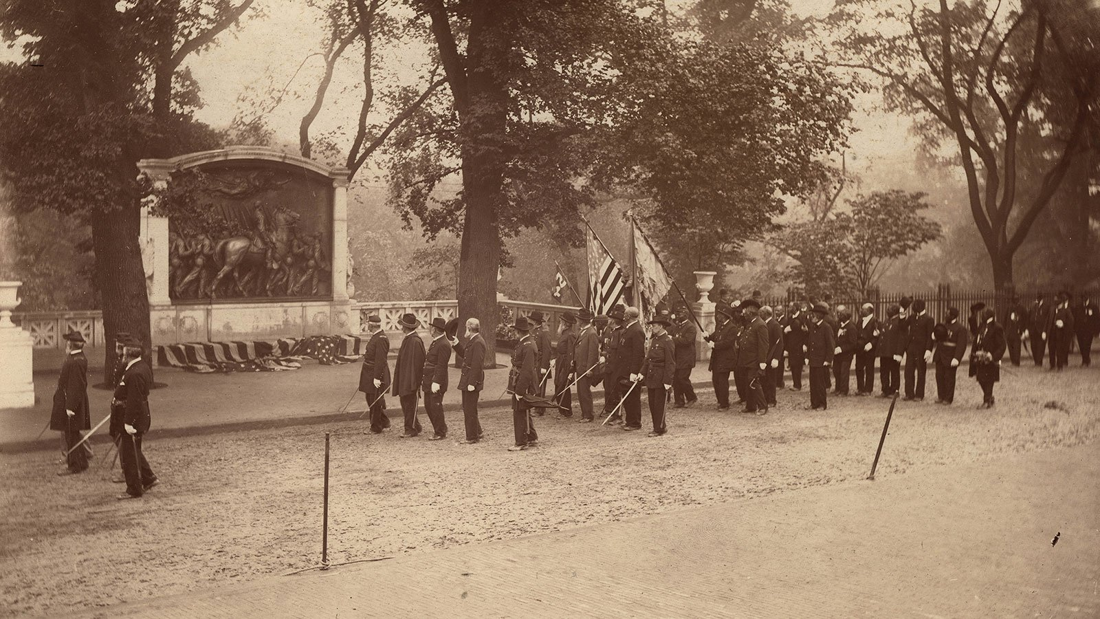 Dedication of the Memorial to Robert Gould Shaw and the Fifty-fourth Massachusetts Regiment