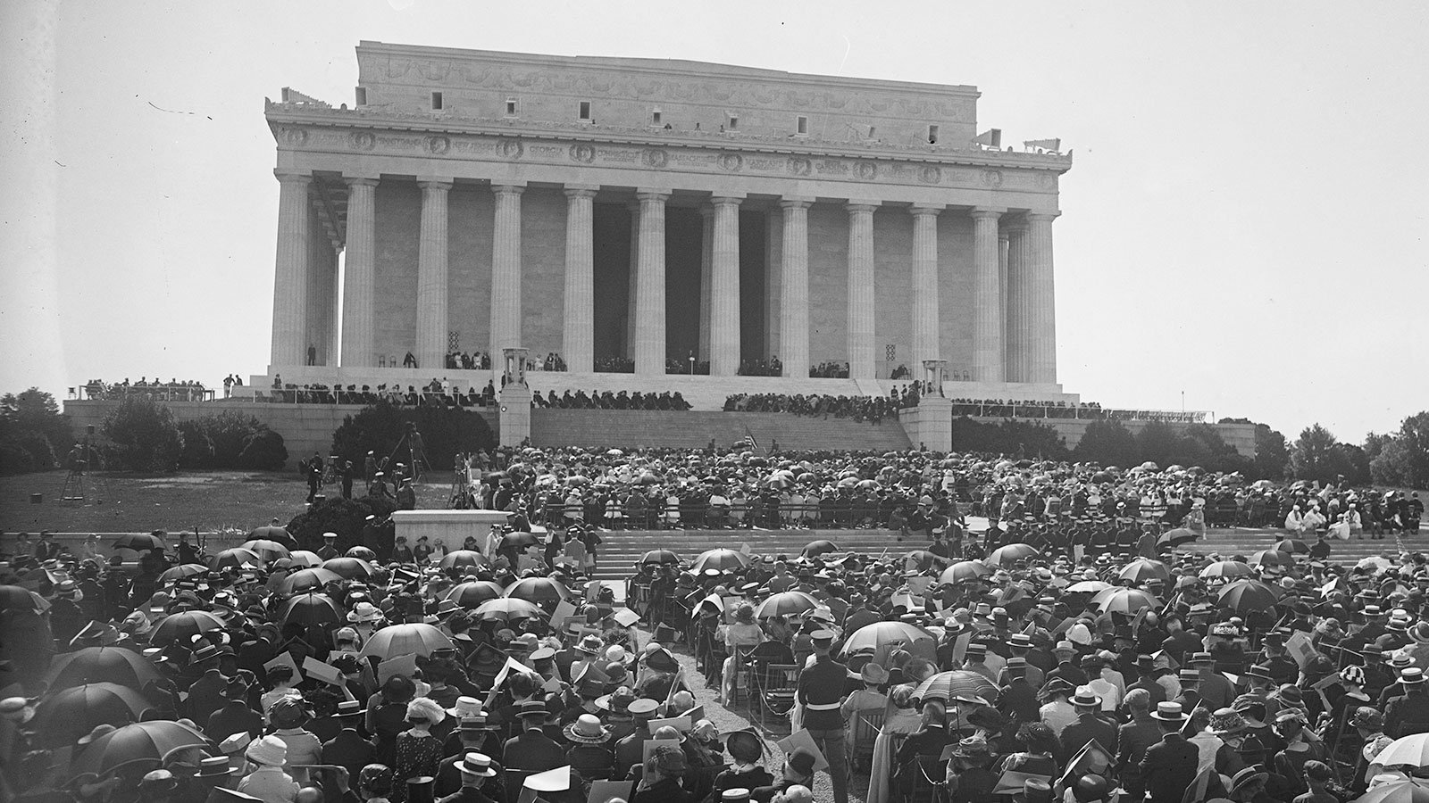 Dedication of the Lincoln Memorial on May 30, 1922
