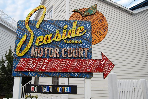 Motor Court sign