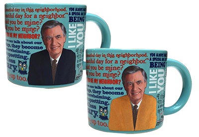 Mister Rogers Color Changing Sweater Mug