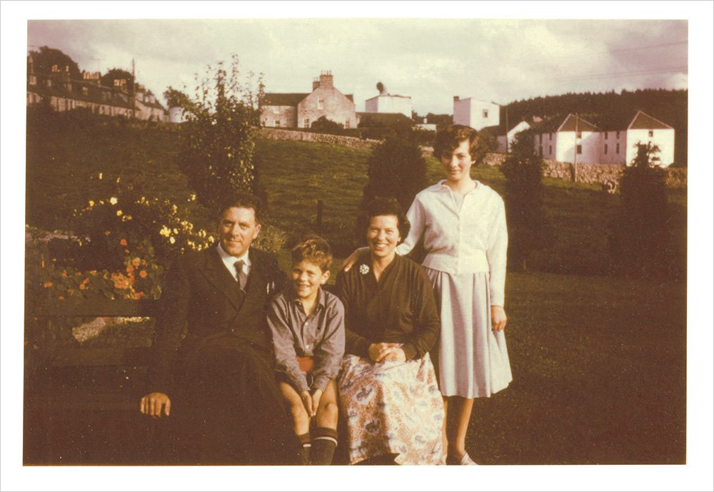 Robert Adam and family in 1958