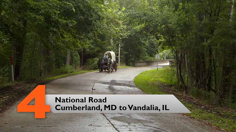 National Road, Cumberland, MD to Vandalia, IL