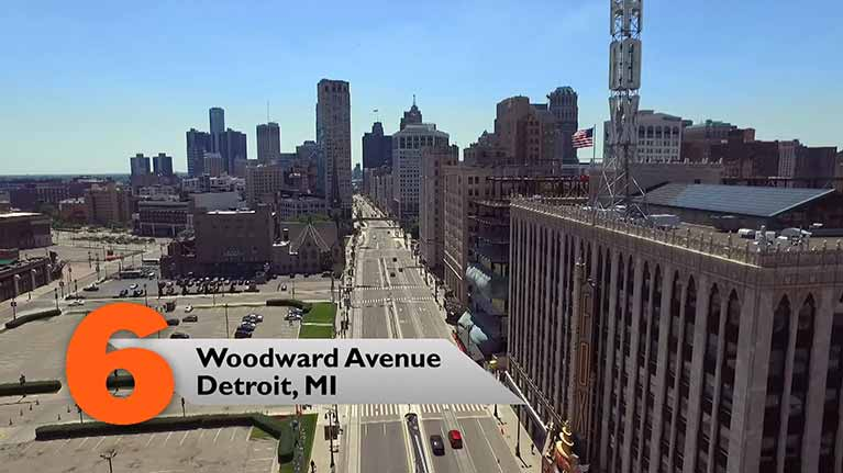 Woodward Avenue, Detroit, MI