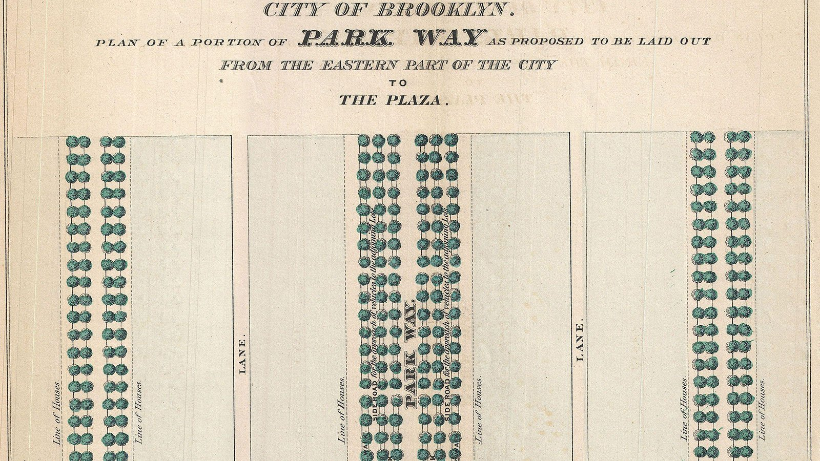 plan for Eastern Parkway