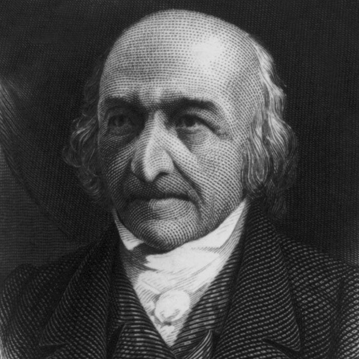 Portrait of Albert Gallatin