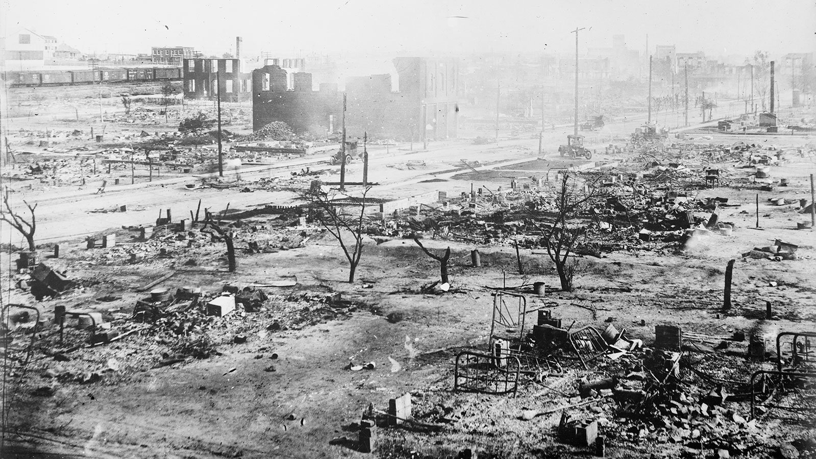 Ruins After the Race Riots, Tulsa, Okla
