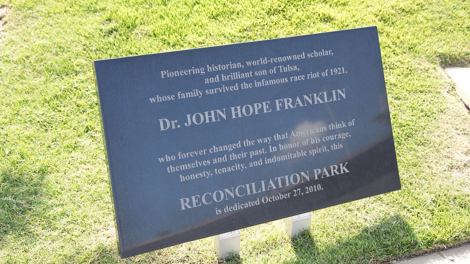 John Hope Franklin Reconciliation Park