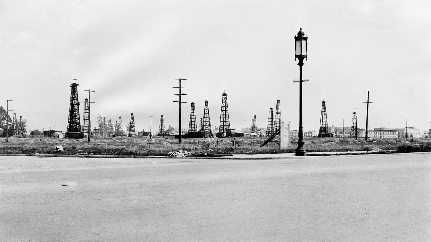 Oil field, Wilshire and Curson