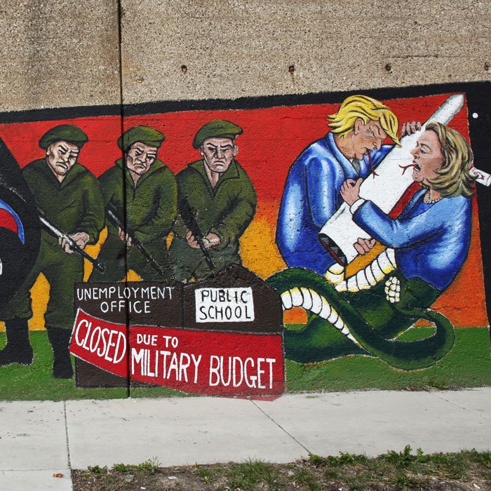 Detail of Prevent World War III