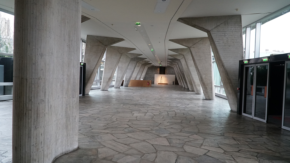 UNESCO World Headquarters lobby