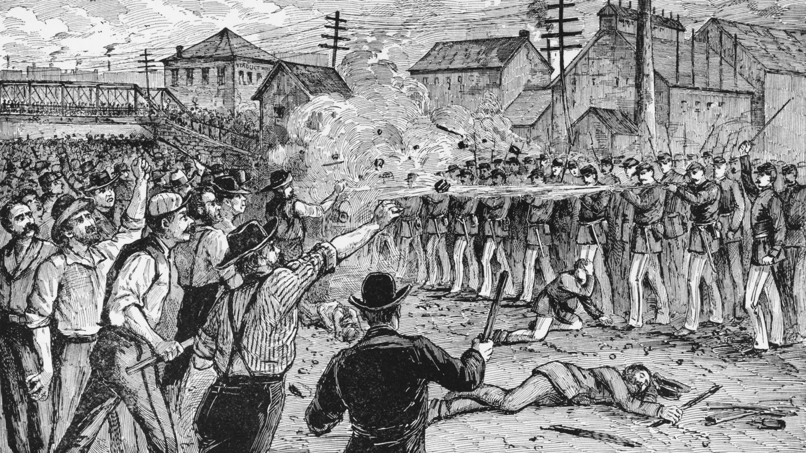 The Labor Troubles of 1877