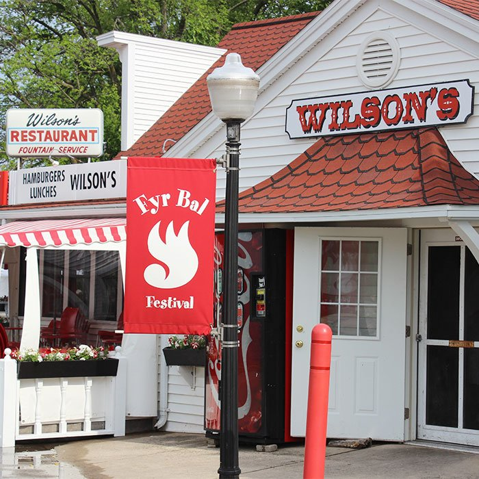 Wilson's Restaurant and Ice Cream Parlor in Ephraim, Wisconsin